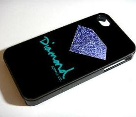Diamond Supply Co Sparkle - Custom iPhone 4/4S, iPhone 5, Samsung Galaxy S3 Case