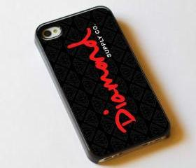 Diamond Supply Logo Red - Custom iPhone 4/4S, iPhone 5, Samsung Galaxy S3 Case