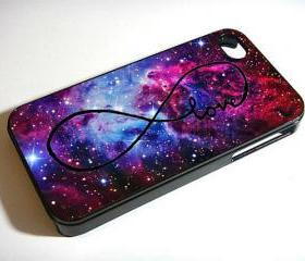 galaxy Foxfur Nebula infinity love custom - Custom iPhone 4/4S, iPhone 5, Samsung Galaxy S3 Case