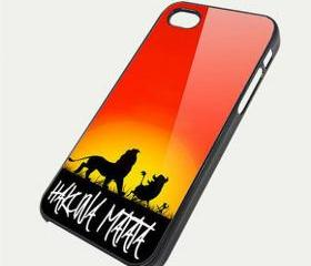 hakuna matata - Custom iPhone 4/4S, iPhone 5, Samsung Galaxy S3 Case