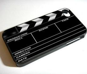 Hollywood Directors Movie Clap Board - Custom iPhone 4/4S, iPhone 5, Samsung Galaxy S3 Case