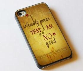 I solemnly swear that I am up to no good - Custom iPhone 4/4S, iPhone 5, Samsung Galaxy S3 Case