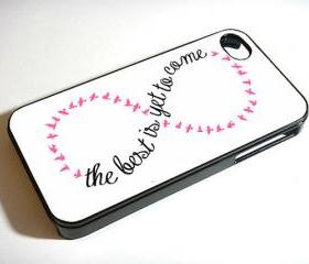 Infinity Quote Pink - Custom iPhone 4/4S, iPhone 5, Samsung Galaxy S3 Case