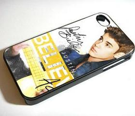 Justin Bieber Acoustic Believe custom Unique - Custom iPhone 4/4S, iPhone 5, Samsung Galaxy S3 Case