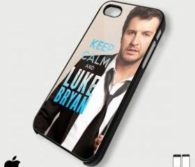 Keep Calm and Luke Bryan - Custom iPhone 4/4S, iPhone 5, Samsung Galaxy S3 Case