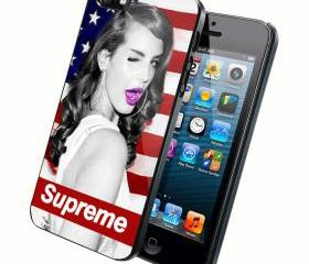 Lana Del Rey Supreme - Custom iPhone 4/4S, iPhone 5, Samsung Galaxy S3 Case