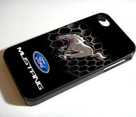 Logo Cars Ford - Custom iPhone 4/4S, iPhone 5, Samsung Galaxy S3 Case