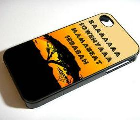 Movie Lion King africa Hakuna Matata - Custom iPhone 4/4S, iPhone 5, Samsung Galaxy S3 Case