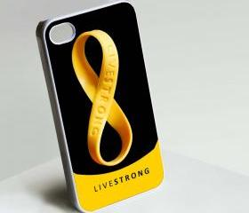 Nike Live Strong Rubber Bracelets - Custom iPhone 4/4S, iPhone 5, Samsung Galaxy S3 Case