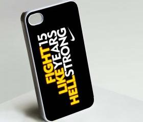 Nike Quote - Custom iPhone 4/4S, iPhone 5, Samsung Galaxy S3 Case