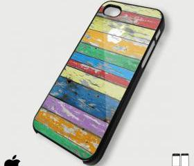Old wood apple - Custom iPhone 4/4S, iPhone 5, Samsung Galaxy S3 Case