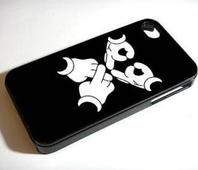 OVOXO Mickey Hands Dizney - Custom iPhone 4/4S, iPhone 5, Samsung Galaxy S3 Case