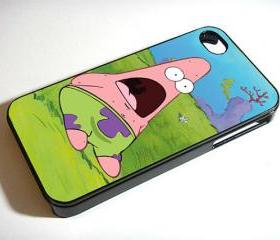 Patrick Star - Custom iPhone 4/4S, iPhone 5, Samsung Galaxy S3 Case