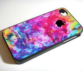 Watercolor Art - Custom iPhone 4/4S, iPhone 5, Samsung Galaxy S3 Case