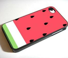 Watermelon Fruit - Custom iPhone 4/4S, iPhone 5, Samsung Galaxy S3 Case